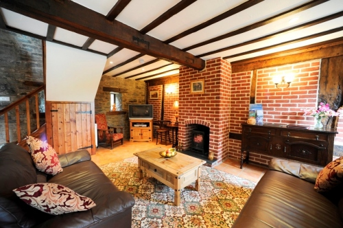 Shropshire Self-Catering Holiday Cottage Living Room