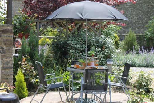 Outdoor Dining at Shropshire Holiday Cottage